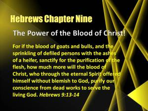 Hebrews 9_the _power_of_the_blood