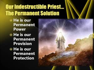Indestructible Priest is permanent solution