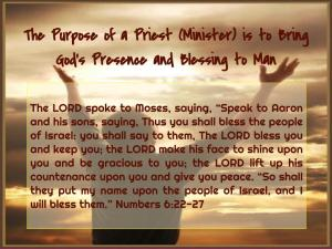 Purpose of Minister (1)