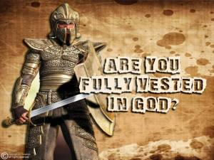 Faith allows you to be fully vested in God