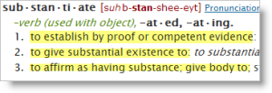 substantiate_from_dictionary_com