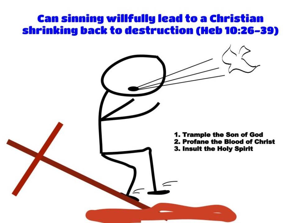Willful Sin and Shrinking Back to Destruction – Can you ...