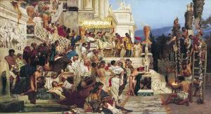 Christian Martyrs in Neros Garden