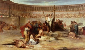 nero murdered christian martyrs