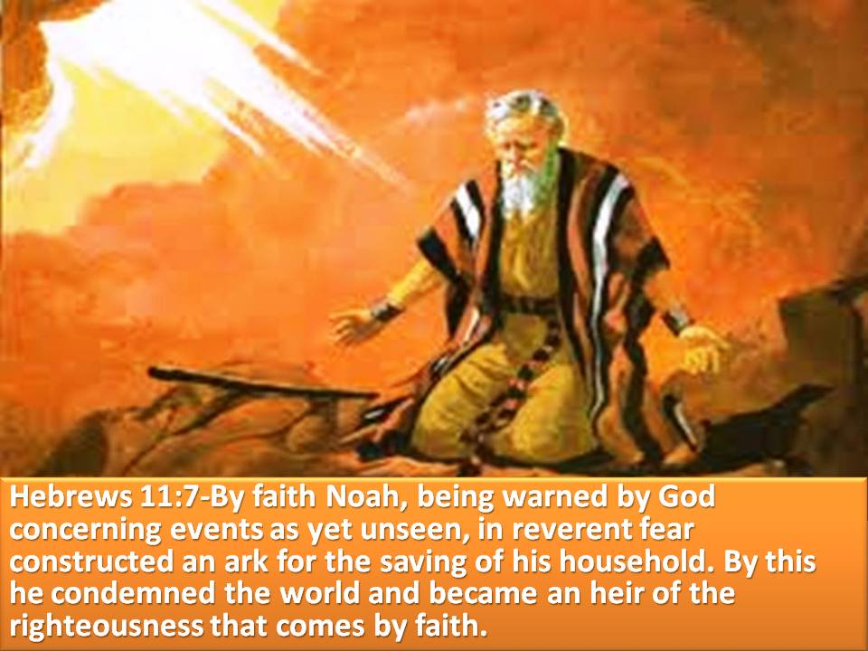 Noah | Loving the Word with the MudPreacher