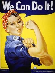 WE CAN DO IT WOMAN POWER